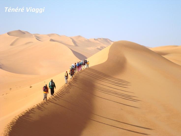Ténéré Viaggi - Libia  - fitwalking  www.tenereviaggi.com/