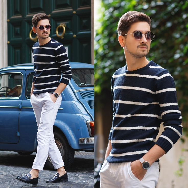 Blog post: http://themysteriousgirl.ro/2015/11/mamma-mia  white pants jumper sweater black shoes asos zara paulevans paul evans zerouv sunglasses kapten and son watch kapten&son kaptenandson