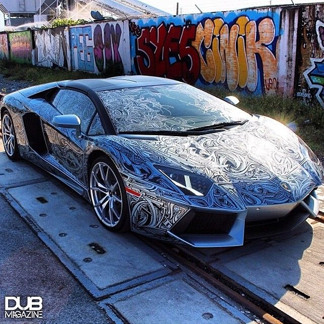 Another Custom Aventador By Cote Cote Laroche X