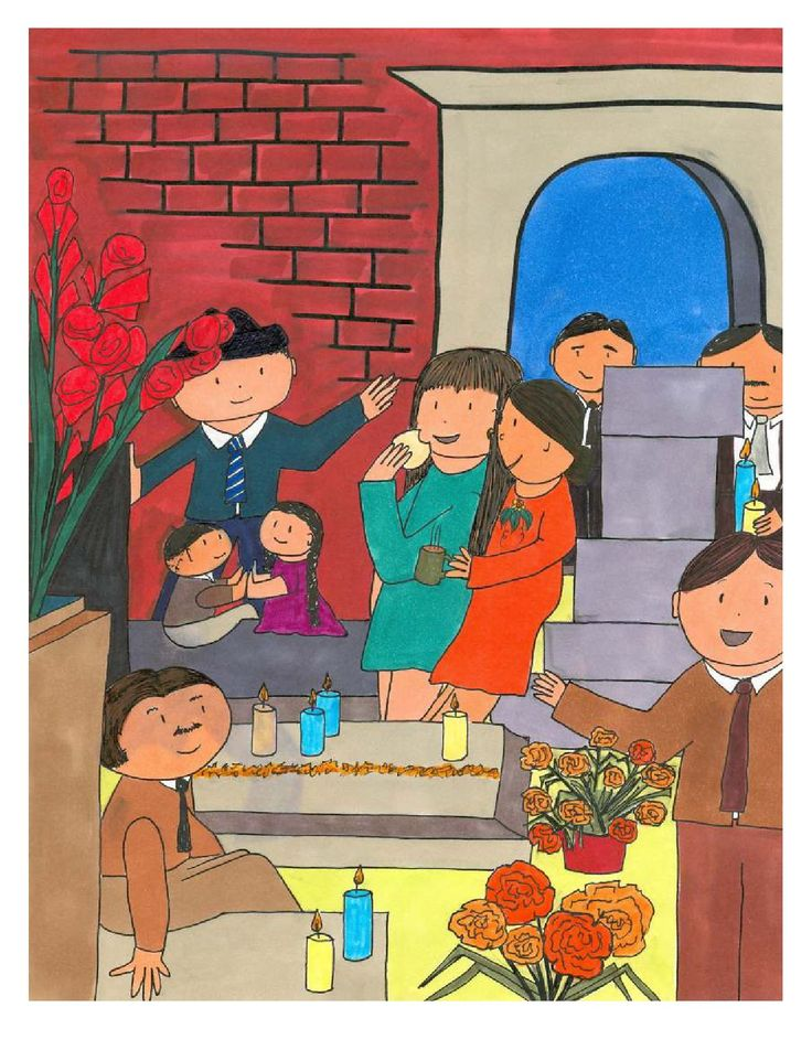 In this full-color picturebook, Marita is sad after the loss of her  grandmother. Through an exploration of customs, activities and beliefs involved in the Day of the Dead, she comes to realize that her abuela will always be with her. Winner of finalist honors: Concurso de Literatura Juvenil, Emabajada de España. Download this publication for free here on Issuu, or on MisCositas.com. Check out MisCositas.com for more materials for the language classroom!