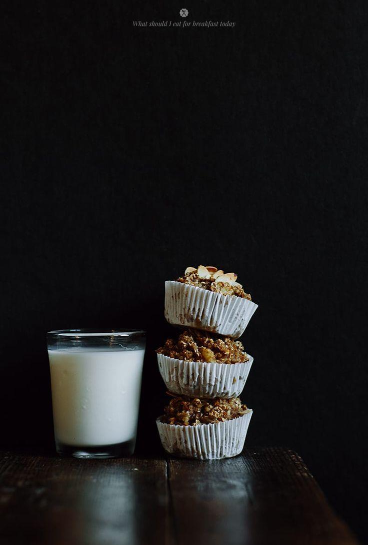 Muffiny z kaszy jaglanej i płatkow owsianych / Marta Greber