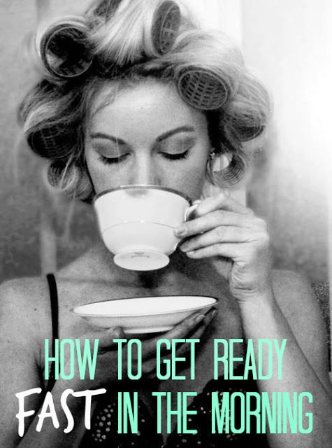 FASHIONISTA LOOKS: How To Get Ready FAST In The Morning #tips #gettingready #ideas #advice #lifestyle