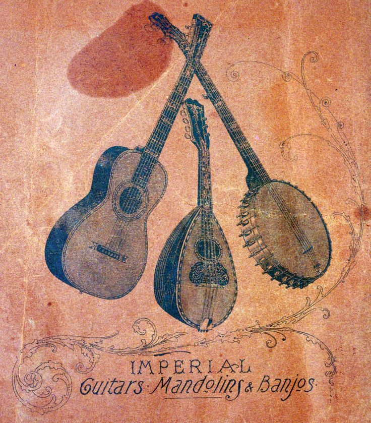 mandoisland:  Guitars, Mandolins  Banjos From an old catalogue