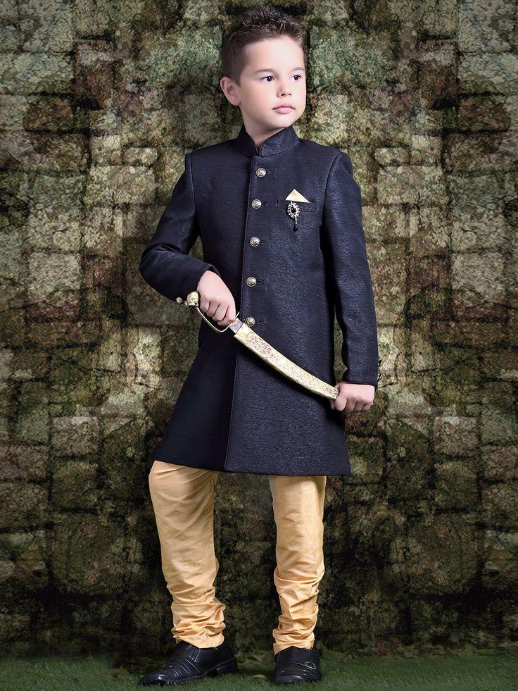 Black Raw Silk Wedding Indo Western.Price and Queries Whatsapp - +91-9913433322 g3fashion.com To buy or for Price Whatsapp +91-9913433322. #kidswear #kurtisets #indianwear #kids #IndoWestern #kidsfashion #kidsofinstagram #kidsfashionforall #kidsfashionbook #kidsonlinestore #indiankids #kidsethnicwear #ethnicwear #kidsindianwear #kidsclothing #kidsclothes #kidswithstyle #kidsstyle #boys #love #instadaily #instacool #instafollow #instafashion #fashionista #kidsootd #festivewear