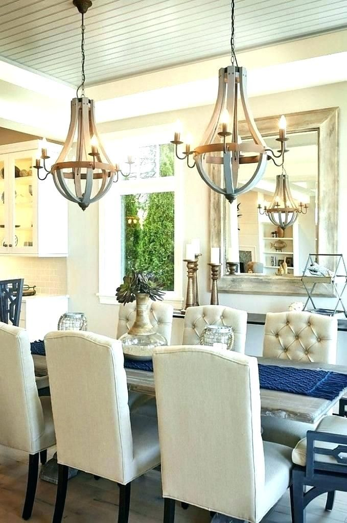 Long Dining Table With 2 Chandeliers Google Search Dining Room