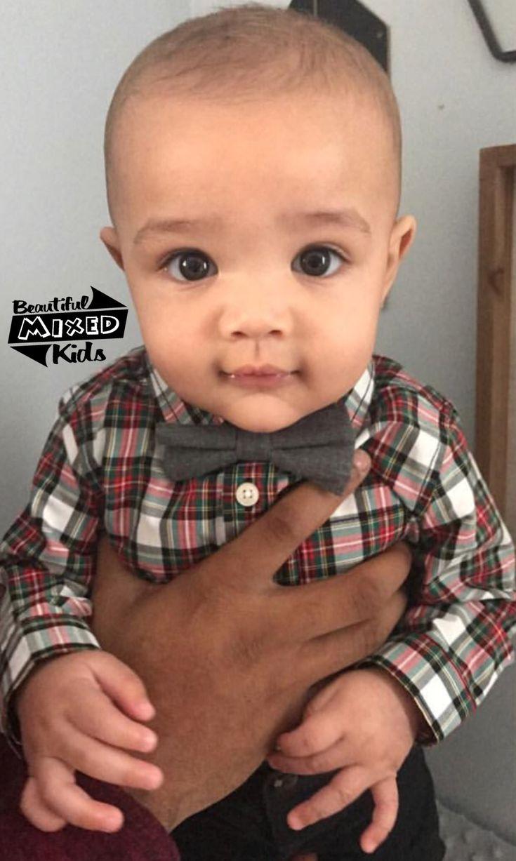 Noah - 6 Months • Italian, Irish, German, Norwegian, Scottish & African American ♥️ FOLLOW @BEAUTIFULMIXEDKIDS http://instagram.com/beautifulmixedkids