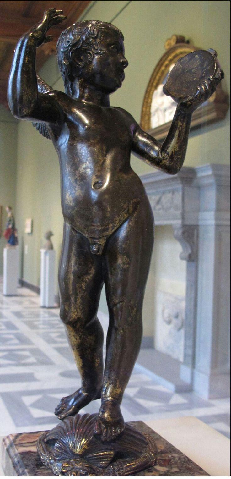 Putto danzante. Tabernacolo del battistero del duomo di Siena. 1424.