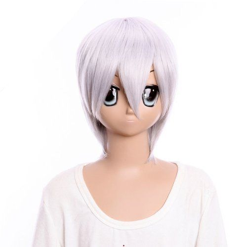 SureWells Nice wigs BLEACH ichimaru gin bob Animi short half silver white wig cosplay wig by SureWells. Save 71 Off!. $23.79. Color : AS PICTURE ,Color Shown: (Color may vary by monitor.). Material : High temperature wire. Package:1 PCS. Hair Style: Cosplay Wigs. Length :about 13.77 Inch. Brand: SureWells Recommended features: 1. Super natural wig , suitable for almost every lady aged from teenagers to adults. 2. With the high technology, Miss Beauty wig series are quite soft and ...