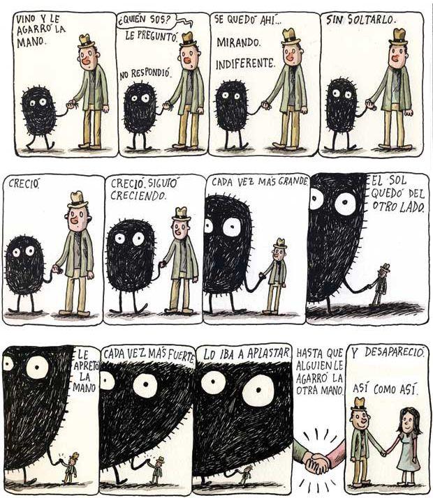 Macanudo Liniers || Del amor y la soledad.. inseguridad?||