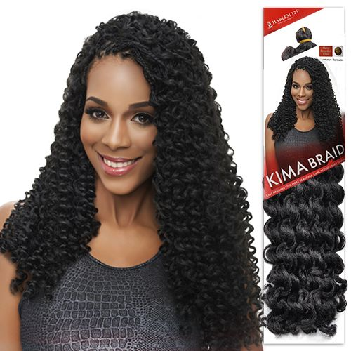 Harlem125 Synthetic Hair Braids Kima Braid Disco Curl 18