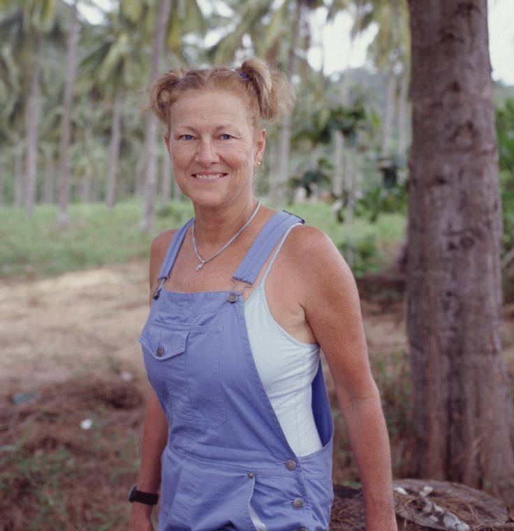 Jan Gentry is an animal lover and had a pet cemetery on the island.