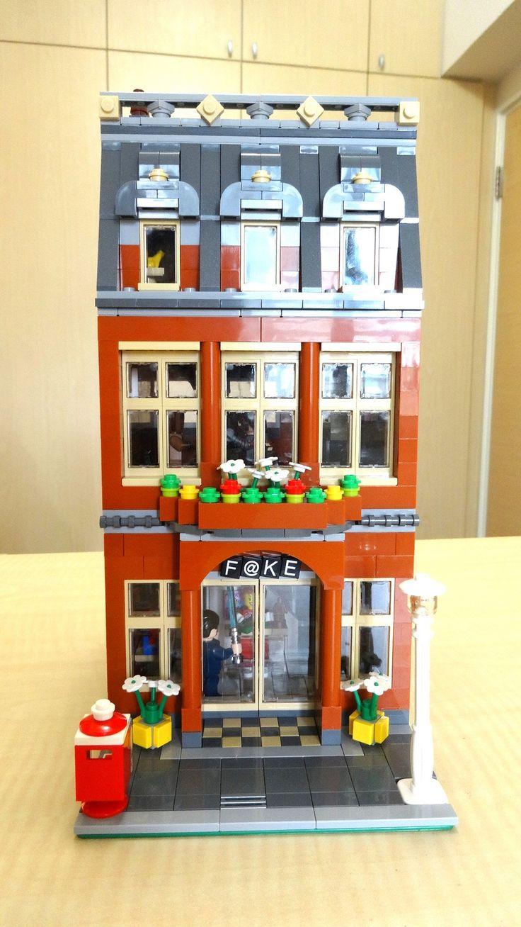 Lego modular board game house