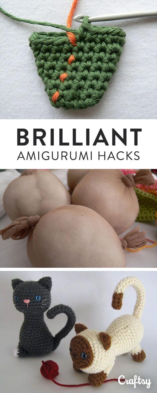 Want more polished, professional amigurumi? Learn the five secrets of amigurumi …