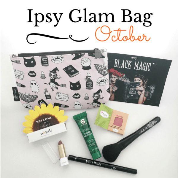 Ipsy Glam Bag October 2016