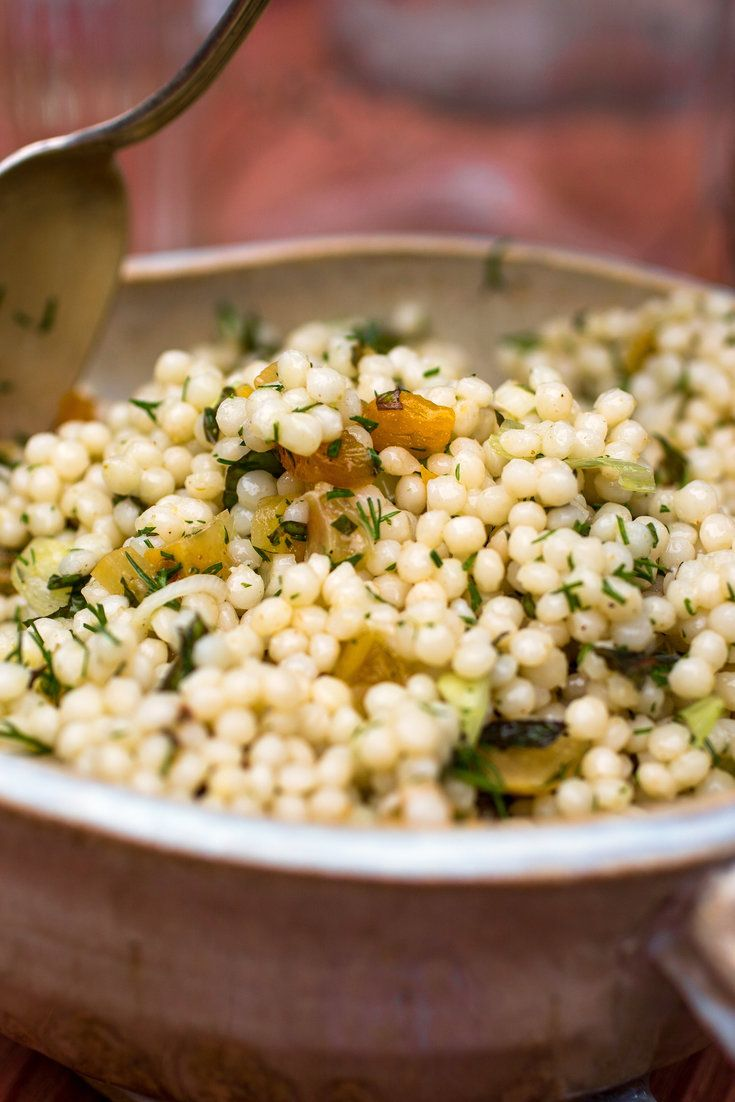 "NYT Cooking: While summer is still with us, you can serve any vegetable-laden dishes you've been enjoying all season alongside your meat. Or for something different, I offer a couscous and dried apricot salad dressed with preserved lemon and plenty of herbs.<br/>If you can't find any preserved lemons, and can spare a few weeks, <a href=""http://cooking.nytimes.com/recipes/1016212-preserved-lemons"">here..."