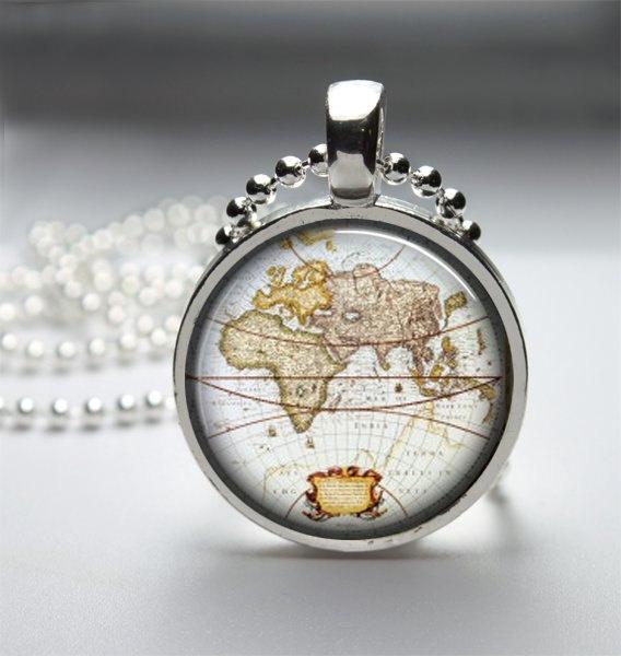 map: Round Glass