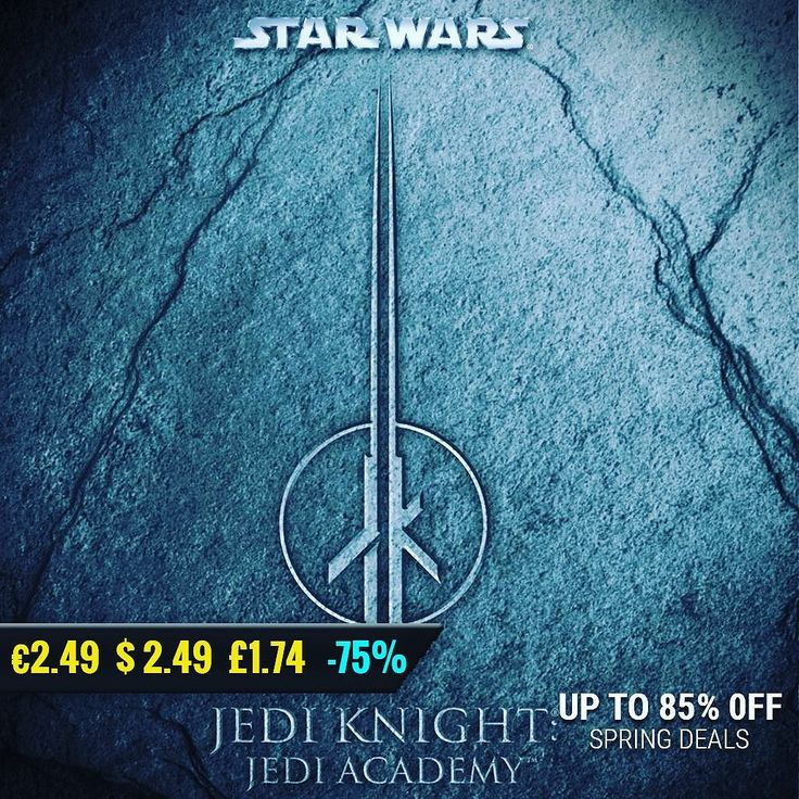 May the 4th #gamedeals Star Wars: Jedi Knight: Jedi Academy -75% Off $2.49 2.24 1.74 http://ift.tt/2q7n3yh #atari #pcgaming #pcgamer #gaming #siladeals