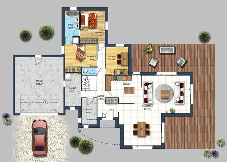 Maison contemporaine Saffré 44