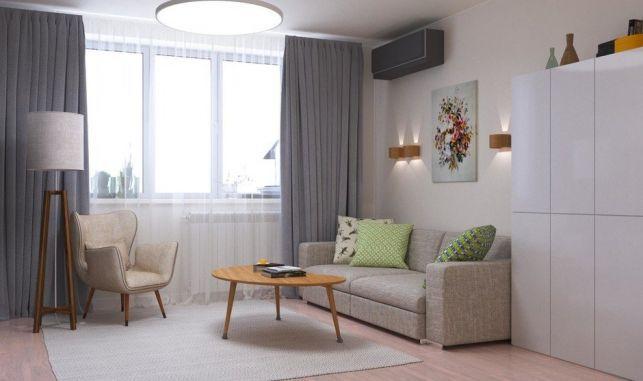 Cum sa amenajezi un spatiu de 38 mp ca un apartament de 2 camere- Inspiratie in amenajarea casei - www.povesteacasei.ro