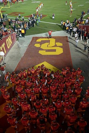 USC FOOTBALL FIGHT ON PAC12