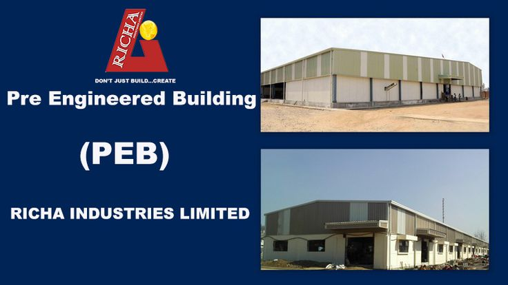 There is no doubt that Pre Engineered Buildings(PEB) play an  important role in construction of Low-rise, mid-rise and high-rise steel structure because various aspects as PEB is recyclable, fast, cost effective and very durable in strength. Richa Industries Limited is one of the largest PEB manufacturer in construction industry and provides best steel building solution. Richa has vast experience of manufacturing all types of steel building and committed to provide on time delivery to…