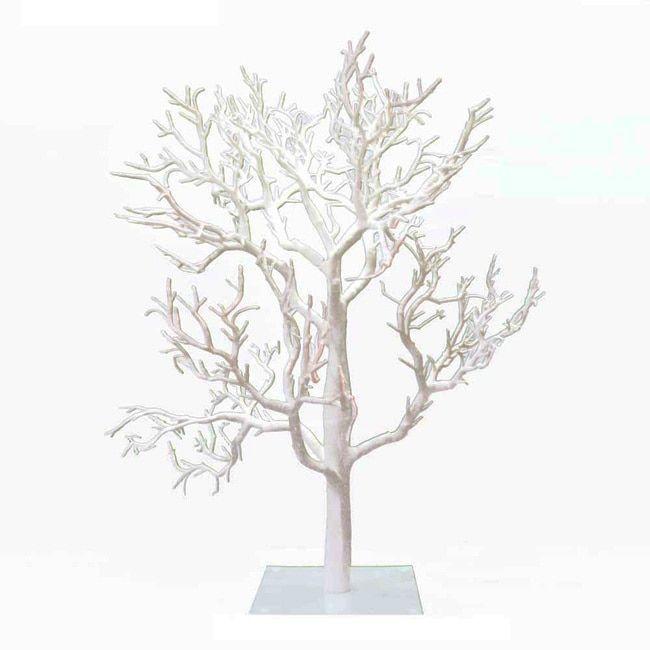 Kurt Adler 32-inch White Twig Tree (White Decorative Tree) (Metal)