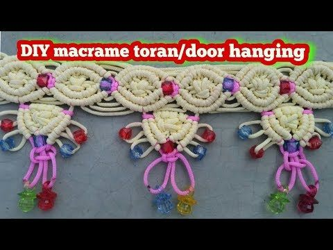 DIY Macrame Butterfly ( Full Making video ) - YouTube