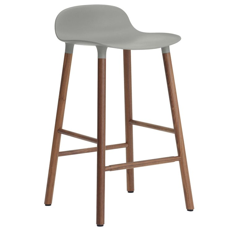 Awesome White Counter Stool with Back