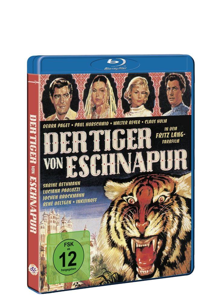 The Tiger of Eschnapur [Blu-ray]: Amazon.de: Debra Paget, Paul Hubschmid, Claus Holm, Sabine Bethmann, René Deltgen, Walter Reyer, Luciana Paoluzzi, Jochen Brockmann, Inkijinoff, Fritz Lang: DVD & Blu-ray