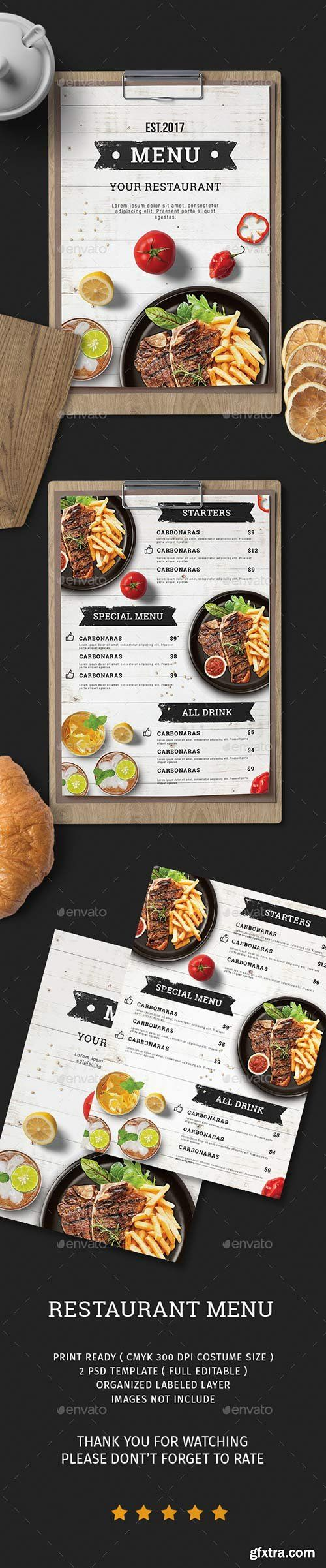 Graphicriver - Food Menu 20522390