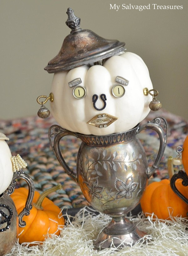 My Salvaged Treasures: Pumpkins with Attitude