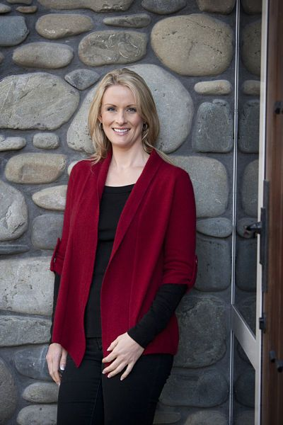 Button Sleeve Jacket made from Merino wool, warm and light - New Zealand Natural Clothing LTD