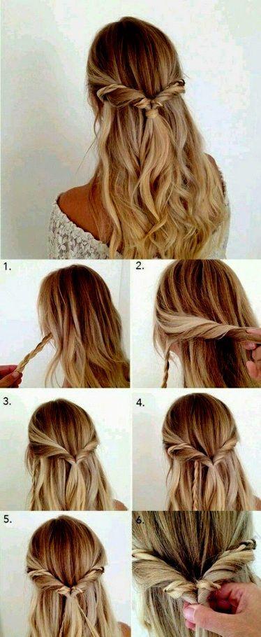 sammlung von frisuren lange haare selber machen offen