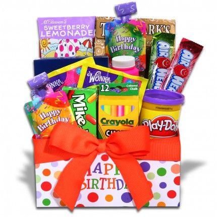 Children S Happy Birthday Gift Basket Gift Ideas