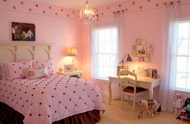 صورة من اختاري اللون الوردي لغرفة نومك