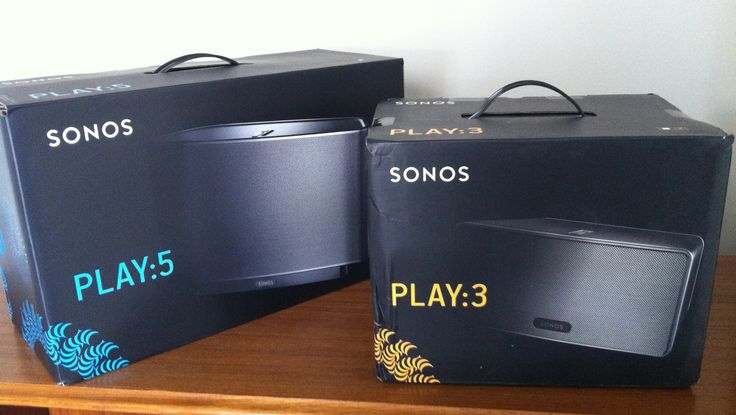 Sonos 3 and 5