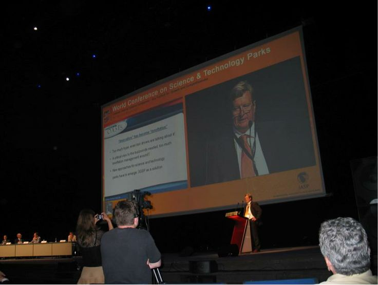 Speaking at IASP World Conference, Barcelona 2007