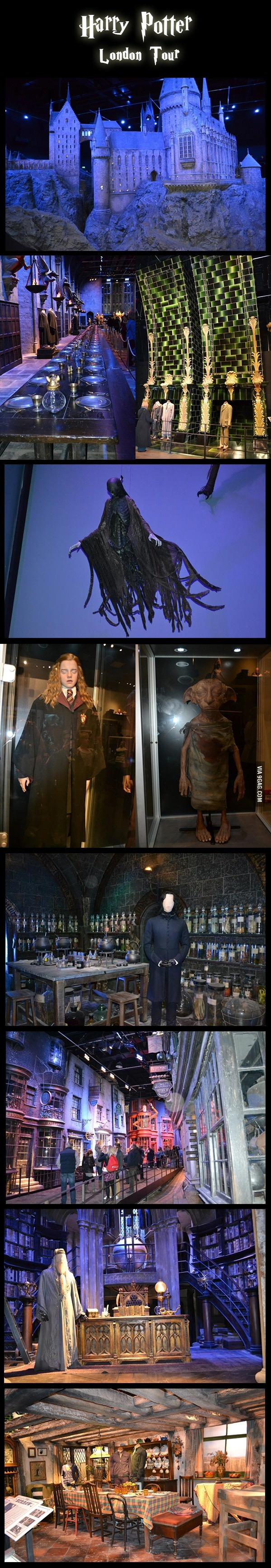Harry Potter London Tour - definitely want to do this