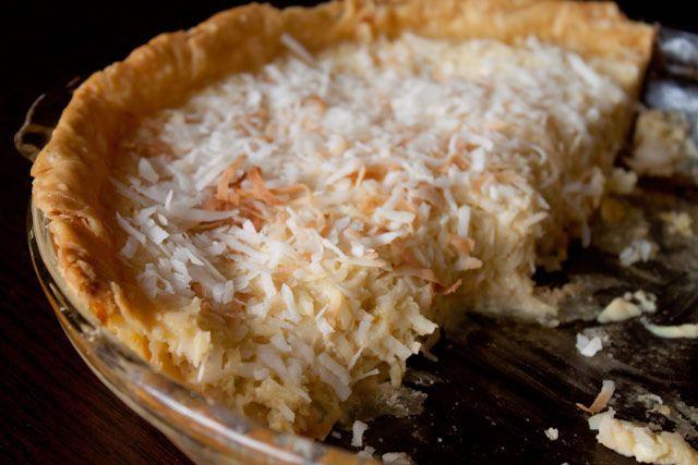 Pies! coconut custard pie | Dessert :-) | Pinterest