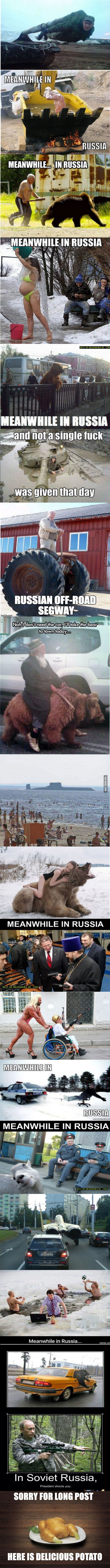 """""""Meanwhile In Russia"""" Compilation."""