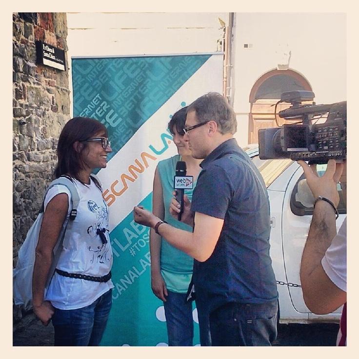 Saturno Web Tv intervista @83saretta sul blog tour #tlabvaltiberina