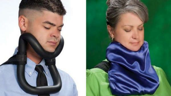 The UpRight Sleeper Minimizes Neck Cramps and Maximizes Naps #shoes #footwear trendhunter.com
