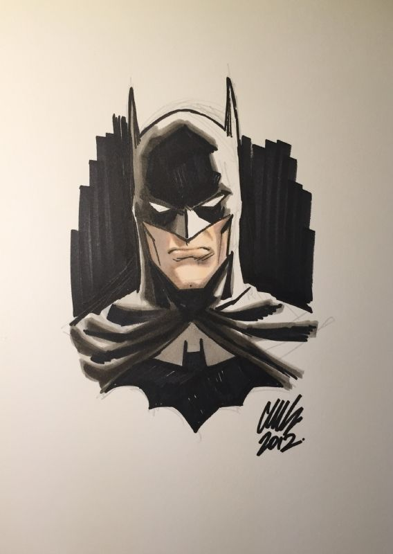 Batman by Cameron Stewart Comic Art