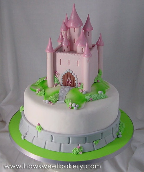 classic castle cake.