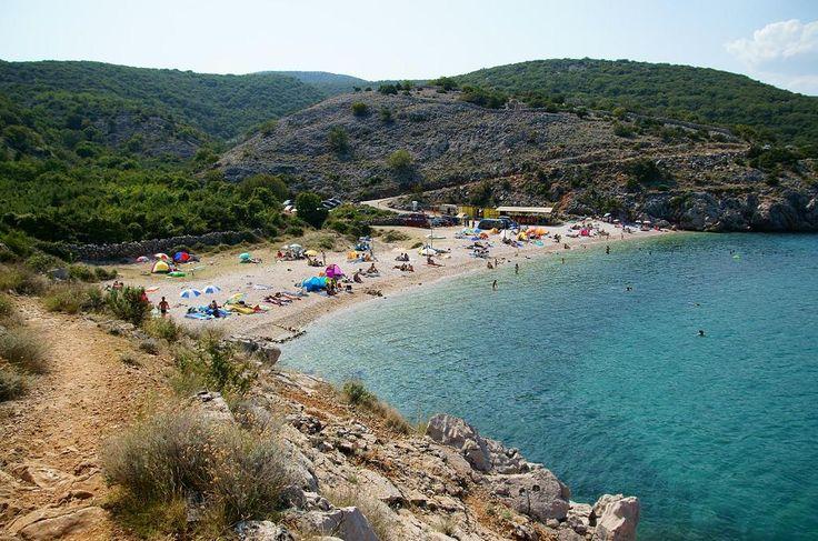 plaże na wyspie Krk, Chorwacja (fot. Mario Spann, flickr.com)