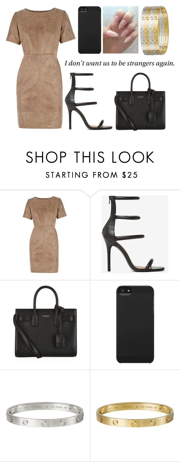 """""""i don't want us to be strangers again"""" by blvck-fashion ❤ liked on Polyvore featuring Oasis, Shoe Cult, Yves Saint Laurent, Incase, Giallo, women's clothing, women, female, woman and misses"""