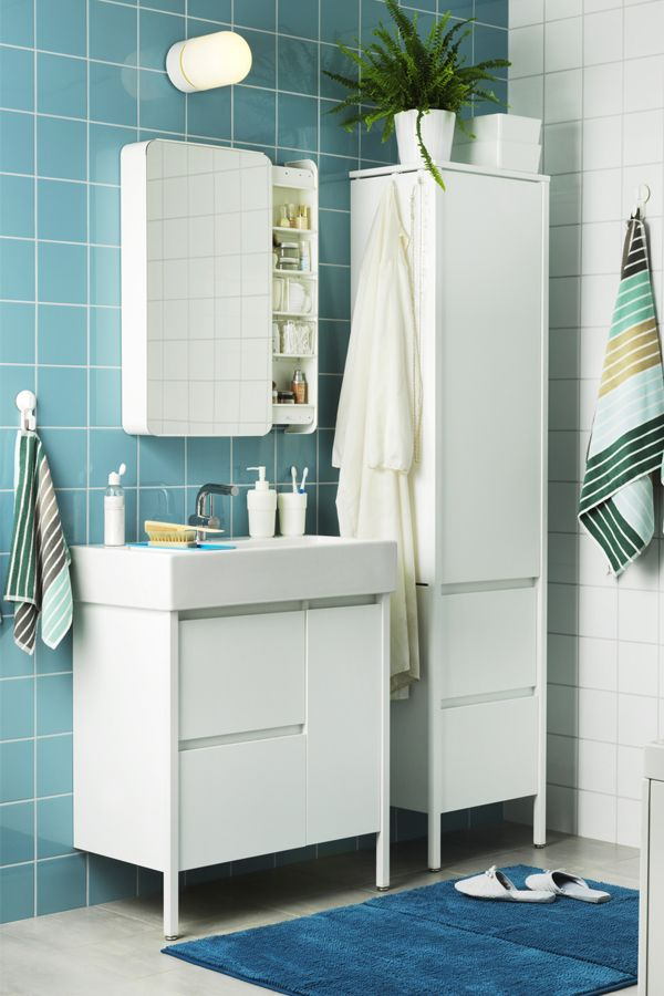 1000 images about bathrooms on pinterest mirror Towel storage ideas ikea