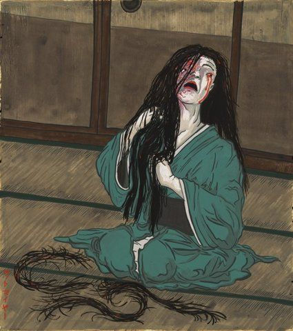 1000+ images about Woodblock Prints: The Supernatural ...