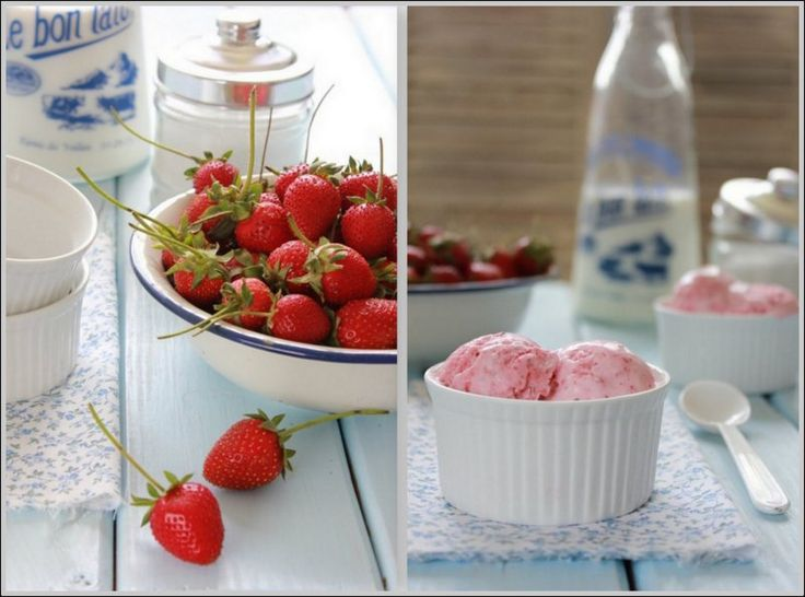 ... : From Farm to Bowl: Homemade Strawberry Ice Cream- Good and Easy