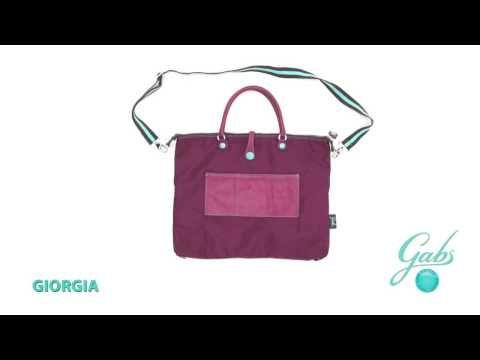 GIORGIA - – De tassen van het Italiaanse merk Gabs zijn multifunctioneel. Bekijk hoe je van 1 tas, verschillende modellen kunt maken. #multifunctioneel #gabs #handbag #bag #video